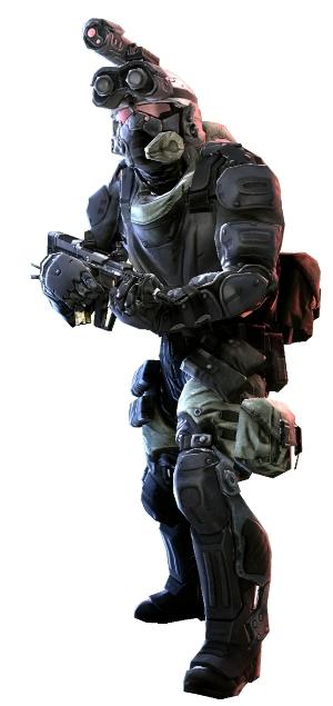 Боец спецназа