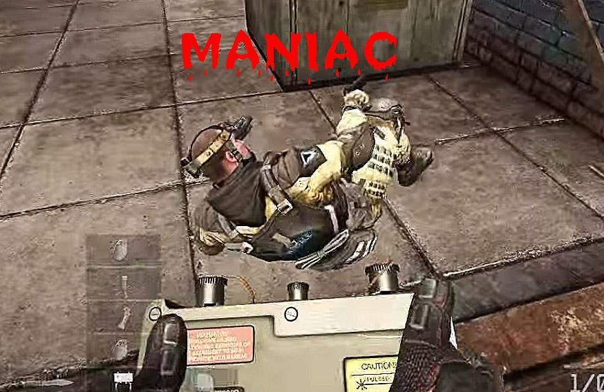 Маньяк в Warface!
