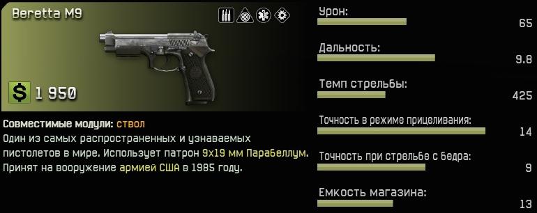Беретта M9