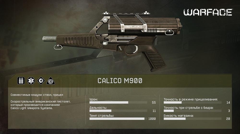 Calico M900