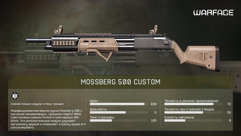 Mossberg 500 Custom